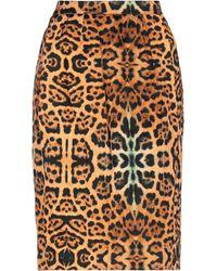 Dries Van Noten Knee Length Skirt - Orange