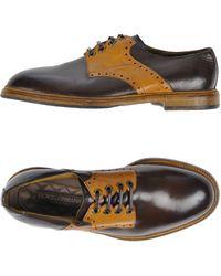 Dolce & Gabbana Chaussures à lacets - Marron