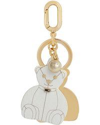 Furla Key Ring - White