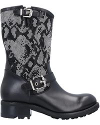 Luciano Padovan Knee Boots - Black