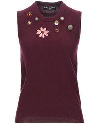 Dolce & Gabbana Jumper - Purple
