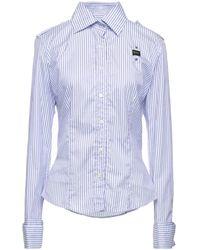 Blauer Shirt - Blue