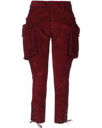 DSquared² Pantalon - Rouge