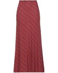 Siyu Long Skirt - Red