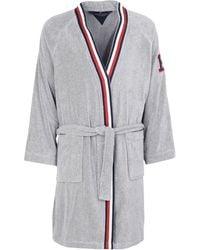 Tommy Hilfiger Dressing Gown Or Bathrobe - Grey