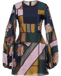 ROKSANDA Short Dress - Green