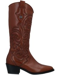 Laura Bellariva Knee Boots - Brown