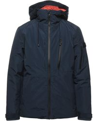 Solid Down Jacket - Blue