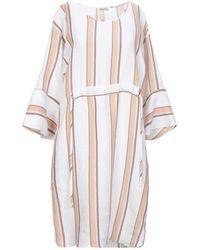 Camicettasnob Knee-length Dress - Natural