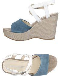 Lumberjack Sandals - Blue