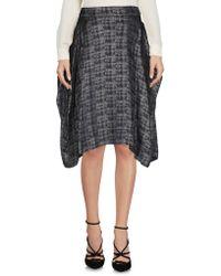 Vivienne Westwood Anglomania Knee Length Skirt - Blue