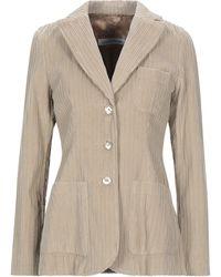 European Culture Suit Jacket - Natural