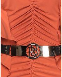 W Les Femmes By Babylon Short Dress - Orange