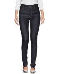 Cheap Monday Denim Trousers - Blue