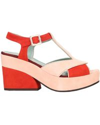 Paola D'arcano Sandals - Red