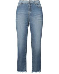 Marc Cain Pantaloni jeans - Blu