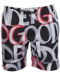 Dolce & Gabbana Boxer da mare - Nero