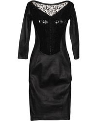Aphero - Knee-length Dress - Lyst