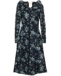 Brock Collection Overcoat - Blue