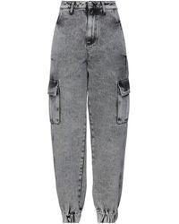 Chiara Ferragni Pantalon en jean - Noir