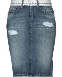 Frankie Morello Denim Skirt - Blue