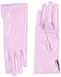 MSGM Gloves - Pink