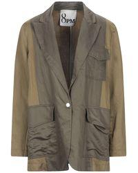 8pm Suit Jacket - Green