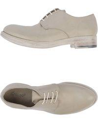 Rocco P Lace-up Shoe - Natural