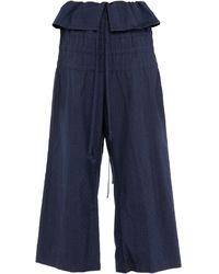 Yohji Yamamoto Pantalon - Bleu