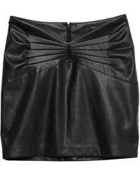 ACTUALEE Midi Skirt - Black