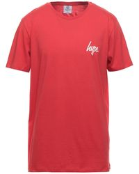 Hype T-shirts - Rot