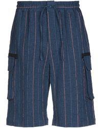 Band of Outsiders Bermuda Shorts - Blue
