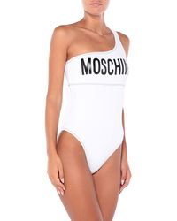 Moschino One-piece Swimsuit - White