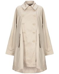 AT.P.CO Overcoat - Natural