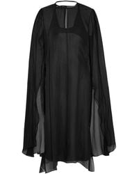 Narciso Rodriguez 3/4 Length Dress - Black
