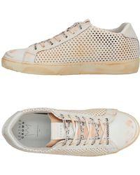 Leather Crown Sneakers & Tennis basses - Orange