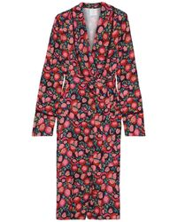 Anna Sui Overcoat - Red
