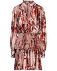 W Les Femmes By Babylon Short Dress - Multicolour