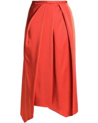 Chalayan Cropped Pants - Red
