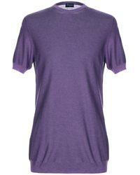 Drumohr Jumper - Purple