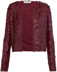 Emilio Pucci Suit Jacket - Purple