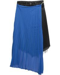 Unravel Project Denim Skirt - Black