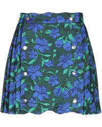 House Of Sunny Mini Skirt - Blue