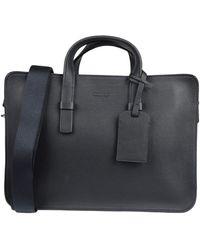 Giorgio Armani Work Bags - Black