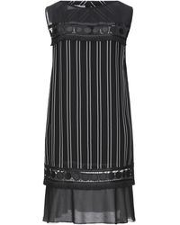 X's Milano Short Dress - Black
