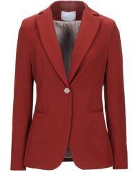 Soallure Suit Jacket - Red