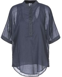 European Culture Blouse - Blue