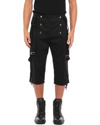 Balmain 3/4-length Short - Black