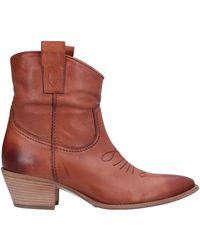 Loretta Pettinari Ankle Boots - Brown