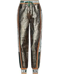 Dolce & Gabbana Trouser - Metallic